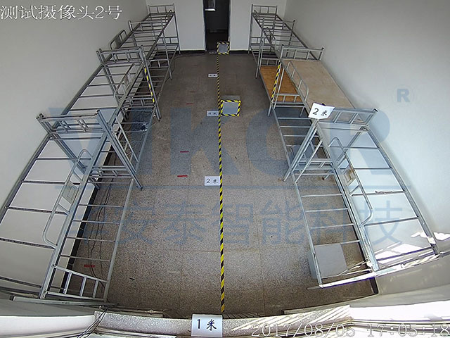 华安泰智能科技-鱼眼全景摄像机监控效果